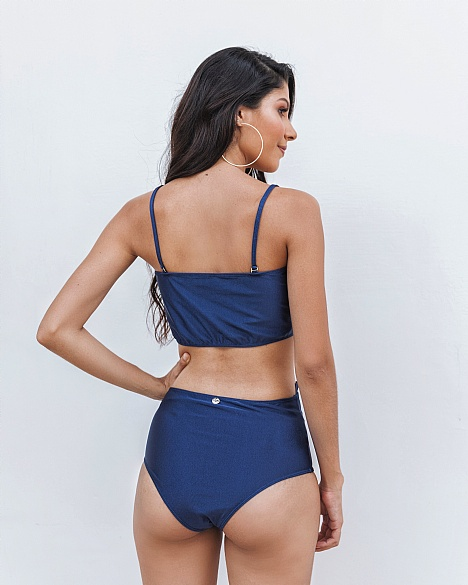 Bikini Hot Pants Azul